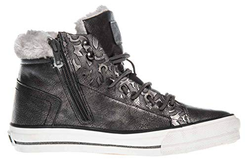 Hautes Femme Gris Sneaker High Top Mustang Baskets vnwqfBC4