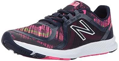 New Balance Women's 77V2 Cross Trainer, Pigment/Stripped Velocity Graphic, 8 B US