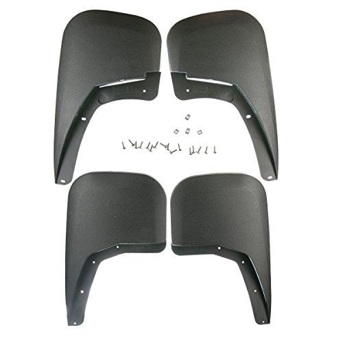 A-Premium Splash Guards Mud Flaps Mudflaps for Chevrolet Silverado1500 2500 HD 3500 HD 2007-2013 SingleRearWheelsonly 4-PC Set