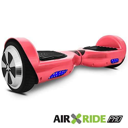 AIR RIDE PRO Self-Balancing Hoverboard Scooter with Training Mode and LED Light UL – 2272 – Pink