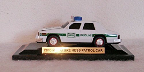 2003 Miniature Hess Patrol Car