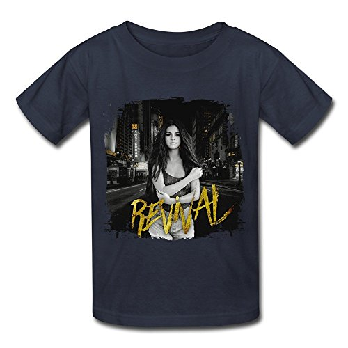 Losnger Kid's Selena Gomez Revival New Album T Shirt - Selenas Album New