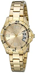 Invicta Women's 15119 Specialty 18k Gold Ion-Plated Stainless Steel Watch