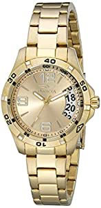 Invicta 15119 Specialty 18k Gold Ion Plated Stainless Steel Watch for Women