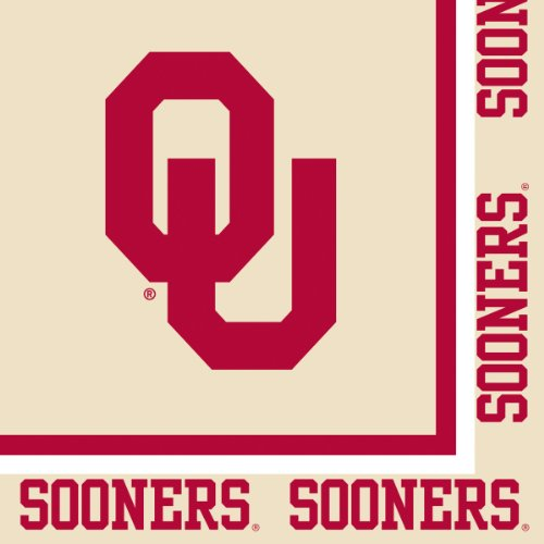 Oklahoma Sooners Lunch Napkins 20 Count