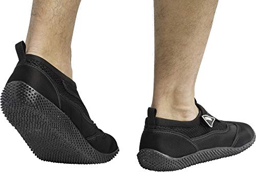 Reef Yellow Beach Premium Black Cressi Aqua Shoes PqdTYg