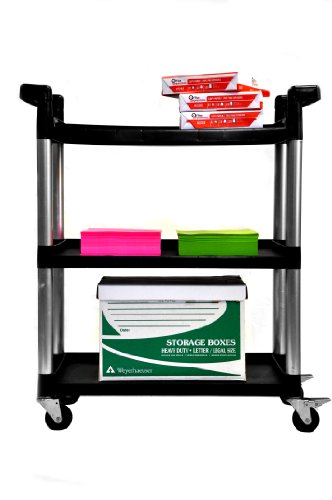 Trinity 3-Tier Utility Cart by Trinity