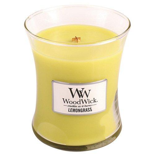 Lemongrass Candle (Woodwick Lemongrass Jar Candle, Medium)