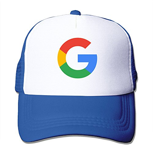 Google G Logo Adjustable Mesh Hat Unisex RoyalBlue