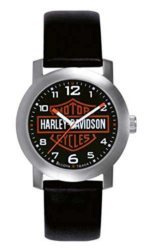 Harley Davidson Bulova Mens's Bar & Shield Logo Watch. Tried