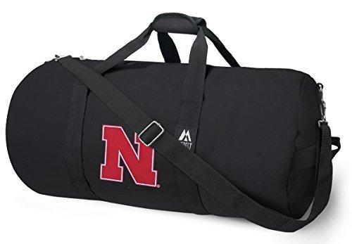 Nebraska Cornhuskers Sport Duffle Bag (OFFICIAL Nebraska Huskers Duffle Bag or University of Nebraska Gym Bags Suitcases)