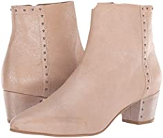 Brand New with Box Seychelles Wake Up Bootie in Blush Metallic Leather