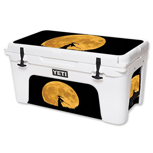 MightySkins Skin For YETI 65 qt Cooler - Samurai | Protective, Durable, and Unique Vinyl Decal wrap cover | Easy To Apply, Remove, and Change Styles | Made in the USA by MightySkins