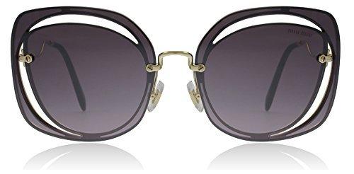0083594f0fbd Miu Miu MU54SS ZVNAD6 Pale Gold MU54SS Square Sunglasses Lens Category 3  Size 6