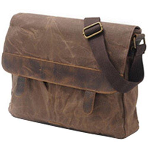 Canvas Messenger Shoulder Bag Vintage Crossbody Laptop Schoo