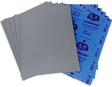 Mirka Wet Dry 9x11 Sandpaper 220-1200    50 Sheets