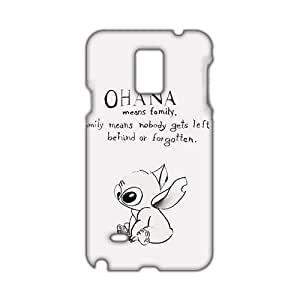 Angl 3D Case Cover Lilo & Stitch Cartoon Anime Phone Case for Samsung Galaxy Note4