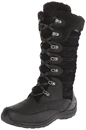 Timberland Women's Earthkeepers Willowood Waterproof INS Snow Boot, Black, 38.5 B(M) EU/5.5 B(M) UK