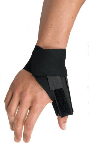 BREG '10201 Splint, Orthopedic, Universal Neoprene Thumb Interchangeable Flexible Rigid Stay Premier - Thumb Neoprene Spica