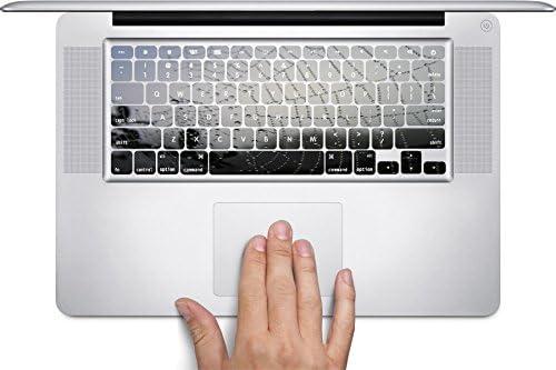 Fits 13, 15 inch Air//Pro//Retina Spider Web MacBook Keyboard Decals by This Mugs 4U