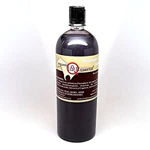 Amazon.com : Yeguada La Reserva Shampoo de Caballo Negro (1 liter Bottle) - All Natural - For Strong, Healthy And Beautiful Hair (For Dark to Black Colored ...