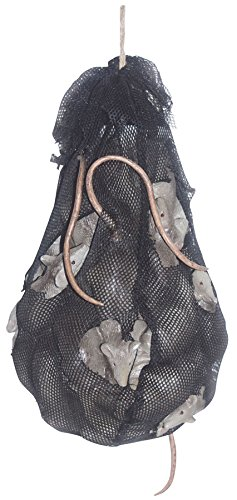 [Bag of Mice with Sound Halloween Prop Realistic Rats Animated Haunted House] (Haunted House Prop)