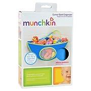 Munchkin Corner Bath Organizer, Blue