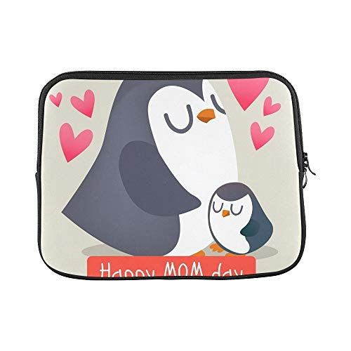 Design Custom Happy Mothers Day Chicken Sleeve Soft Laptop Case Bag Pouch Skin for MacBook Air 11