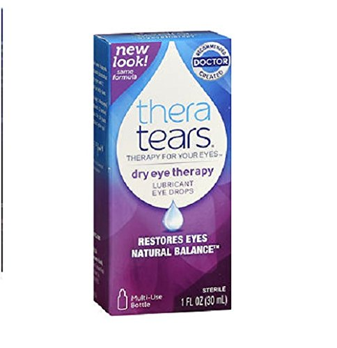 TheraTears Lubricant Eye Drops 1 fl oz (30 ml) by Thera Tears