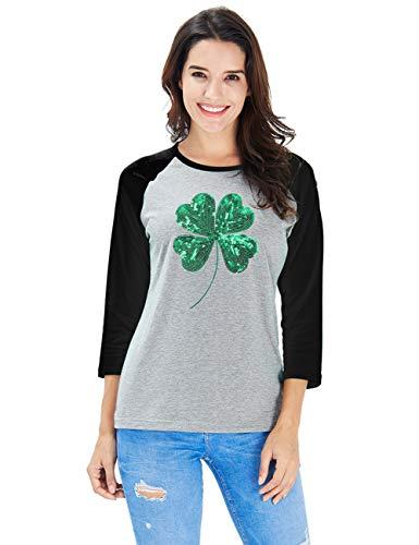 Uideazone St Patrick's Day T Shirts Saint Pattys Tee & Irish -