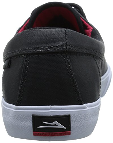 Shoe Skate Men's Camby Lakai Black Canvas Coated qFP7w01