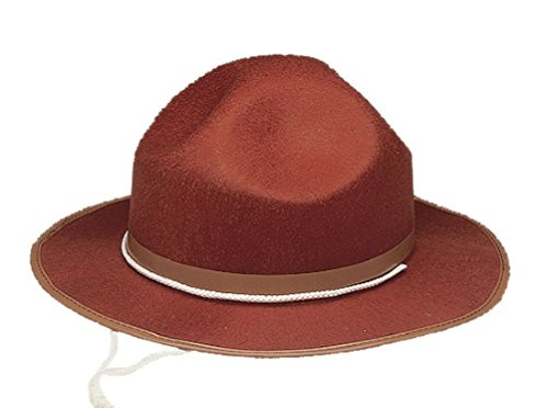 Mountie Girl Costumes (Mounties Hat Drill Sergeant Costume Hat Permafelt Sergeant Hat)