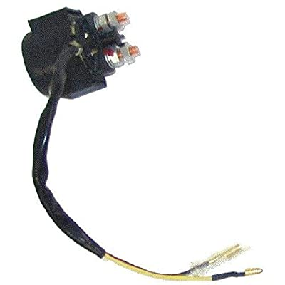 SOLENOID / RELAY (2 wires) for Chinese made 110cc, 125cc, 150cc, 200cc, 250cc, 300cc ATV, Dirt Bike, Pocket Bike, Chopper, Scooter, Go-Kart: Sports & Outdoors