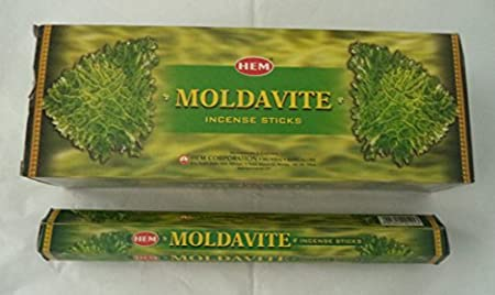 HEM Moldavite 120 Incense Sticks (6 x 20 stick packs) by Hem