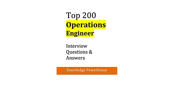 Amazon top 200 operations engineer interview questions amazon top 200 operations engineer interview questions answers ebook knowledge powerhouse kindle store fandeluxe
