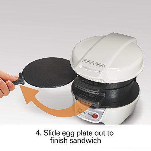 Proctor Silex 25479 Breakfast Sandwich Maker, White by Proctor Silex (Image #5)