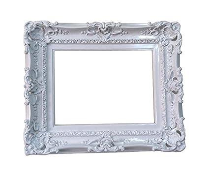 Amazon.com: 12x16 Shabby Chic White Frame / Decorative Baroque Frame ...