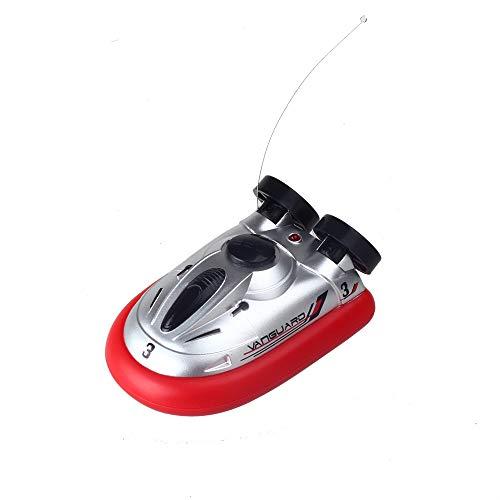 Impulls 777-220 Mini rc Boat Hovercraft Red Color Mini Micro I/R RC Remote Control Sport Hover Boat Toy Gift FSWB (Hover Boat)