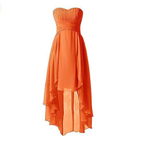 KA Beauty - Vestido - para mujer naranja