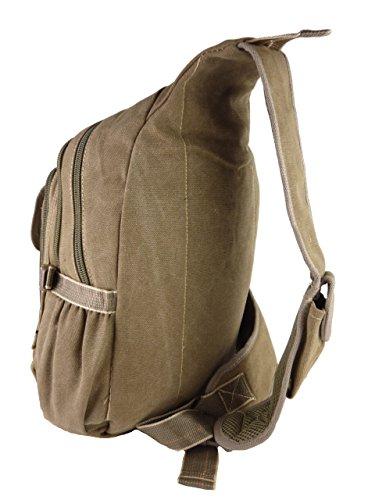 BABYFISH Denim Rucksack, 1 Träger, crossbag, ca. 22 Liter, 45 x 30 ...
