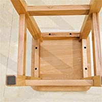 Stool Small Square Stool For Kids Wooden Stool Thickening Non-Slip Shoes Adult Bench Salon Portable Thickness Non Slip 01