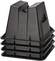 Attwood Corporation 11401-4 Pontoon Winter Storage Block, Set of 4