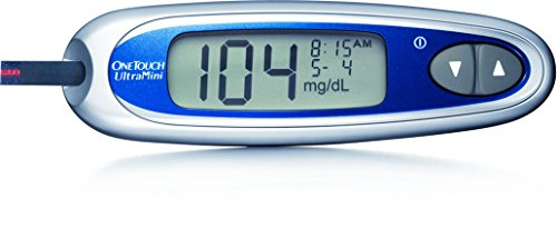 Onetouch Ultramini System Silver (One Touch Ultra Mini Blood Glucose Meter Kit)
