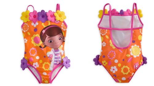 Disney - Doc Mcstuffins Swimsuit for Girls - Size 5/6 - New with Tags