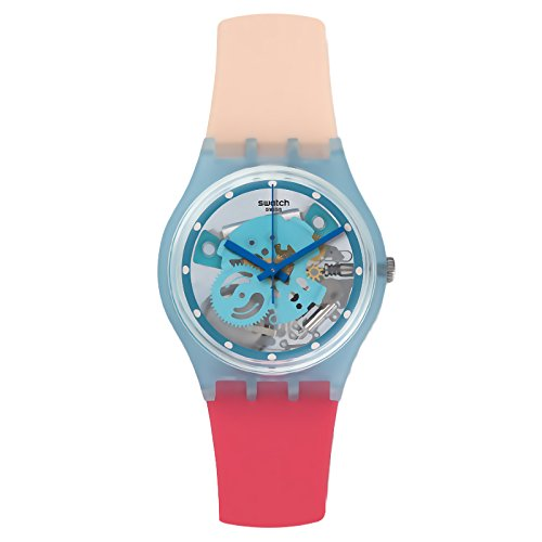 Plastic Transparent Watch (Swatch Varigotti Transparent Dial Ladies Watch GL118)