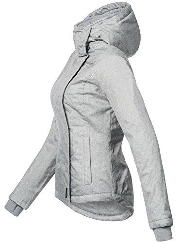 Sublevel pour Gris 46550D femme Veste de XL 9 XS Couleurs transition sportive Clair rrHwI
