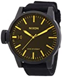 Nixon Men's Chronicle Watch One Size Black