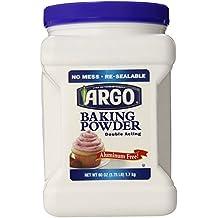 Argo Baking Powder, 60 Ounce