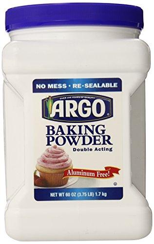 Argo Baking Powder, 60 Ounce (Free Baking Powder)
