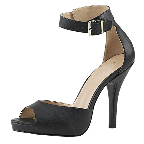 Pleaser Day and Night Sandalette Eve-02